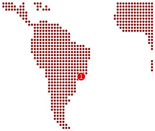 Centres équipés Amérique du Sud