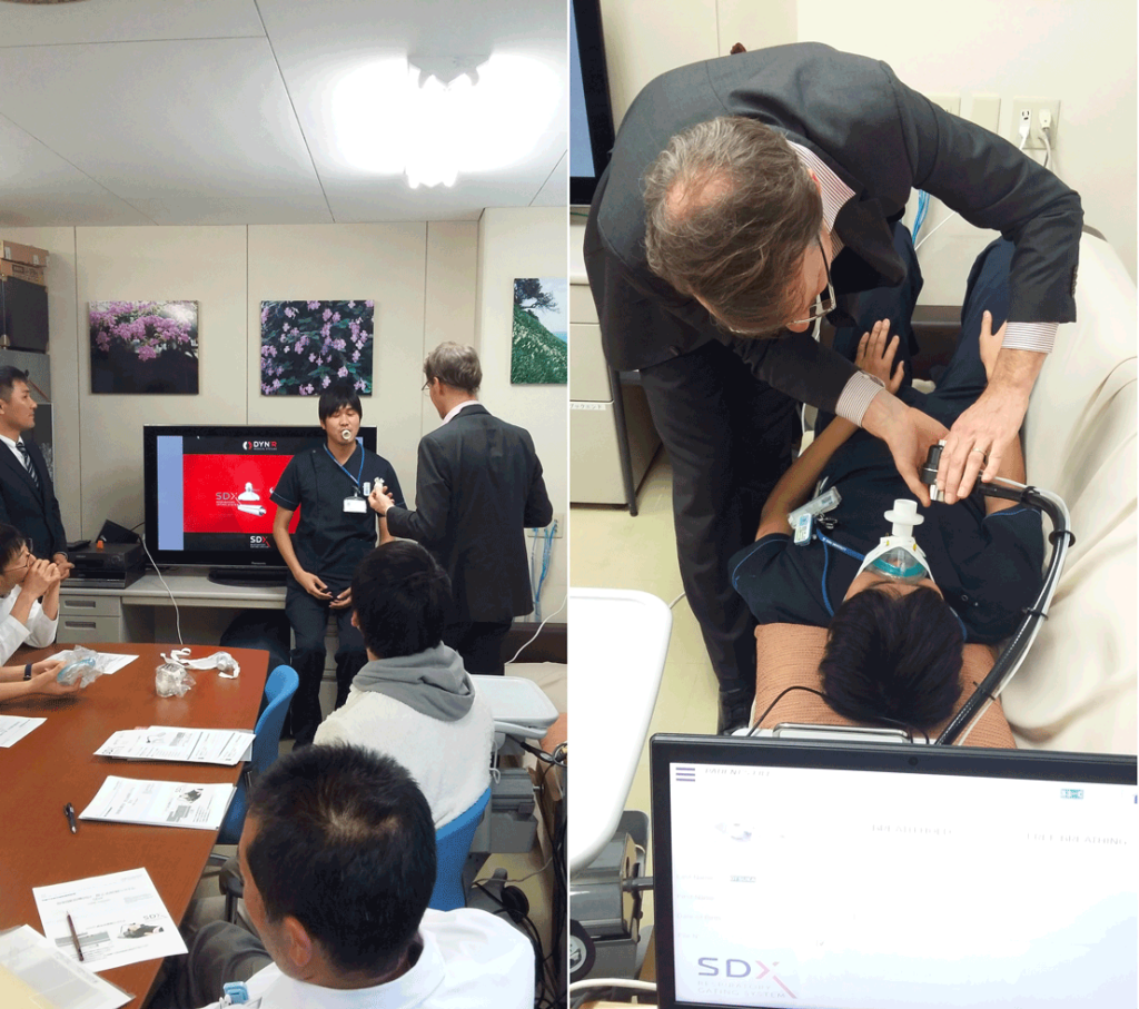 Presentation of the SDX System in Kindai University Hospital with